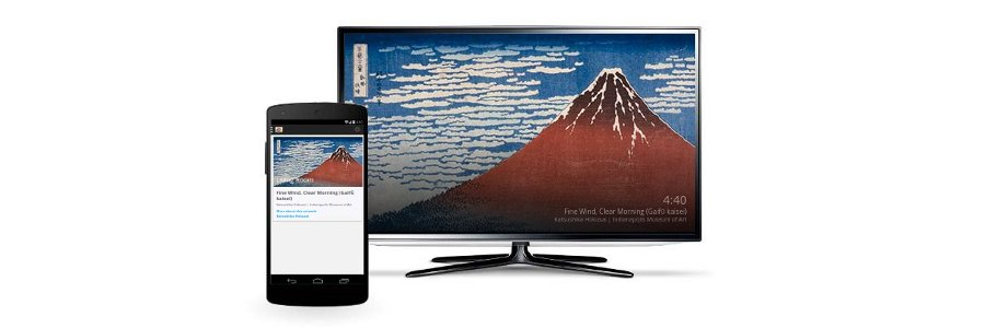 How to change your Google Chromecast background with Backdrop